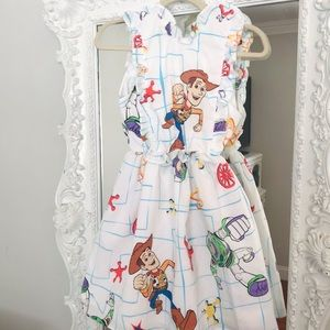 Disney TOY STORY Ruffle Bib Dress